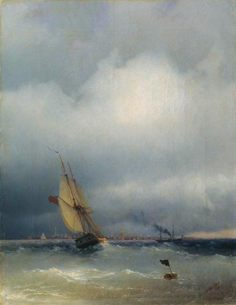 Финский залив - 1848 год