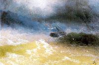 Ураган на море (И.К. Айвазовский)