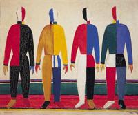 Спортсмены (К. Малевич. 1930 г.)