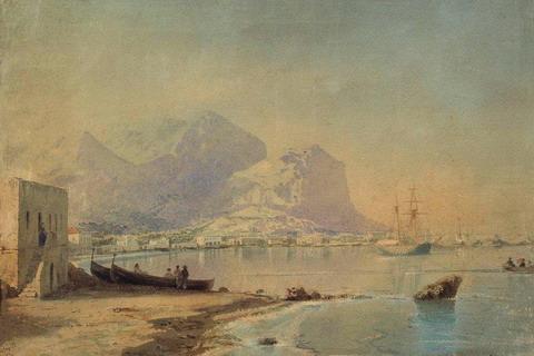 В гавани - 1842 год