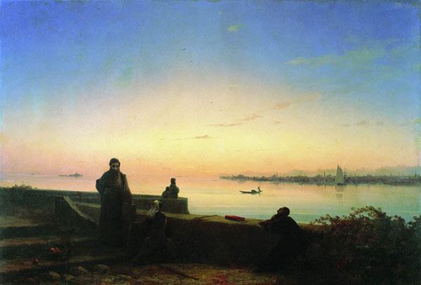Мхитаристы на острове св. Лазаря. Венеция.