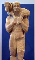 Мосхофор. Середина VI в. до н.э. Афины, Музей Акрополя