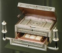 Коробка для рукоделия. Конец XVIII в.