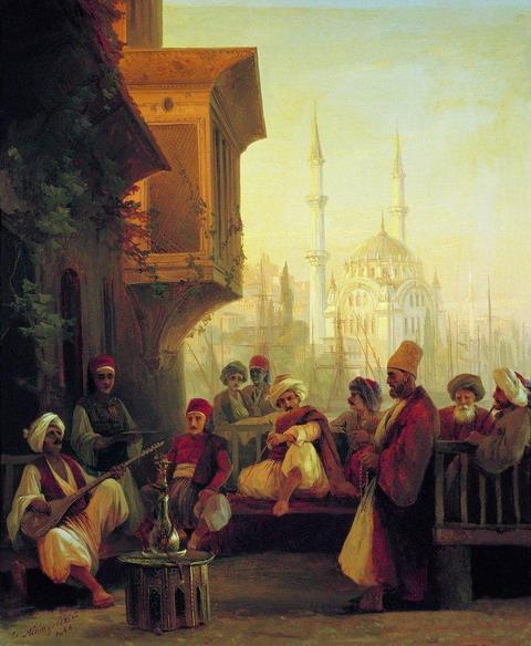 Восточная сцена - 1846 год