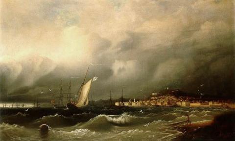Старая Феодосия - 1845 год