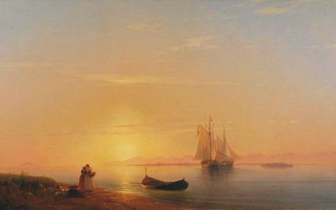 Берега Далмации - 1848 год