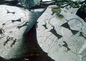 Петроглифы Саймалуу-Таша