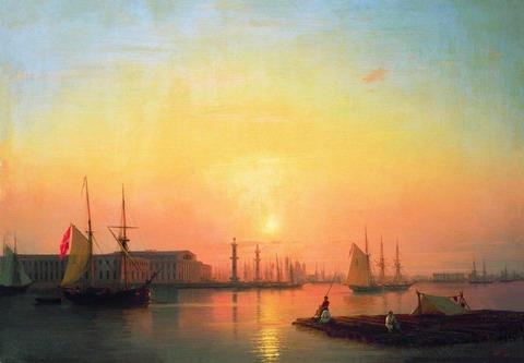 Петербургская биржа - 1847 год
