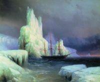 Ледяные горы (И.К. Айвазовский)