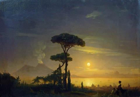 Неаполитанский залив - 1845 год
