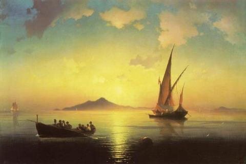 Неаполитанский залив - 1841 год