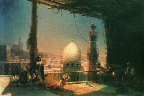 Сцены из каирской жизни - 1881 год