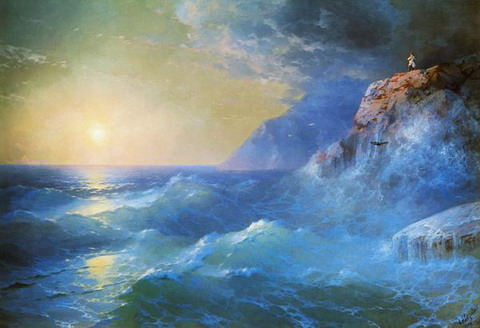 Наполеон на острове Святой Елены - 1897 год