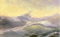 Рассекая волны (И.К. Айвазовский, 1890 г.)