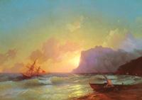 Буря (И.К. Айвазовский)