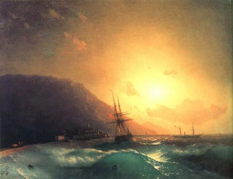У берегов Ялты - 1864 год