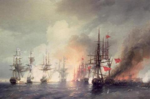 Морское сражение при Синопе 18-го ноября 1853 года - 1853 год