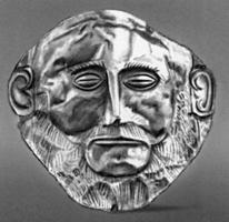 Маска Агамемнона (Эгейское искусство)