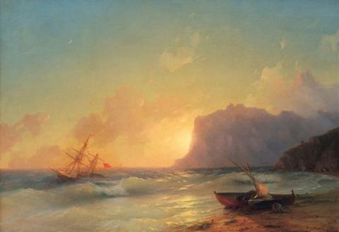 Море. Коктебель - 1853 год