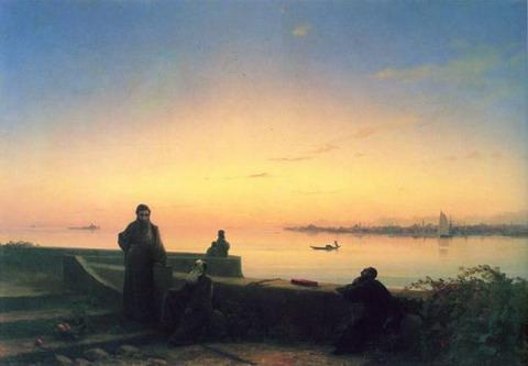 Мхитаристы на острове св. Лазаря. Венеция - 1843 год