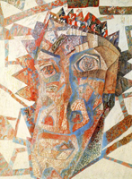 Голова (Павел Филонов. 1925 г.)