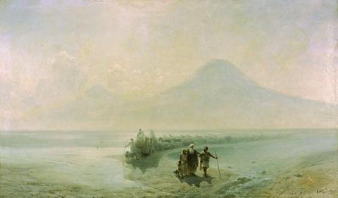 Сошествие Ноя с Арарата - 1889 год