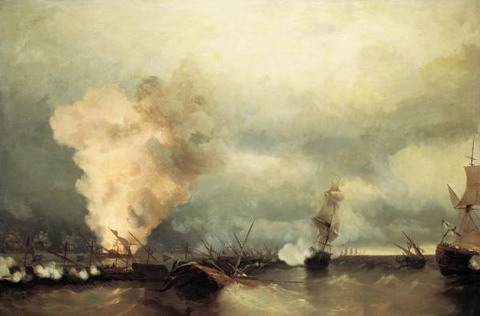 Морское сражение при Выборге 29 июня 1790 года - 1846 год