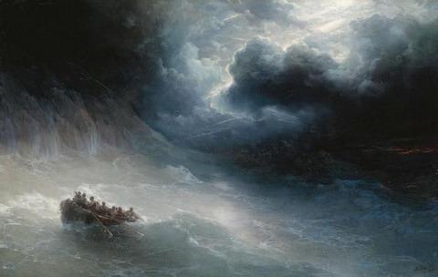 Гнев моря - 1886 год