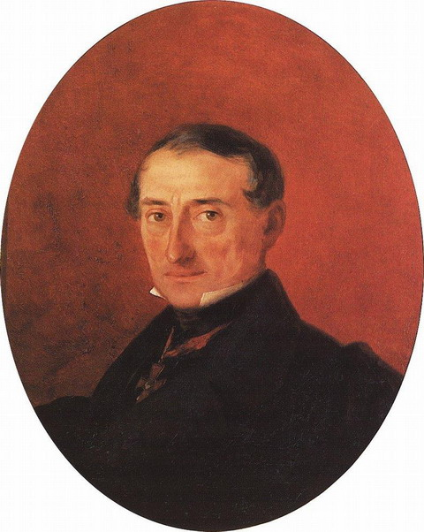Портрет А.И.Казначеева - 1847 год