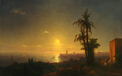 Ночь на острове Родос