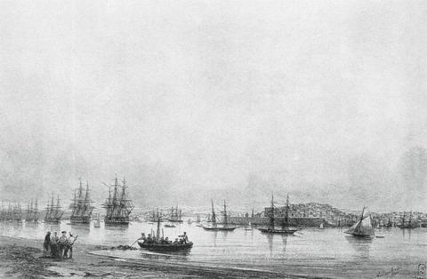 Севастополь - 1845 год
